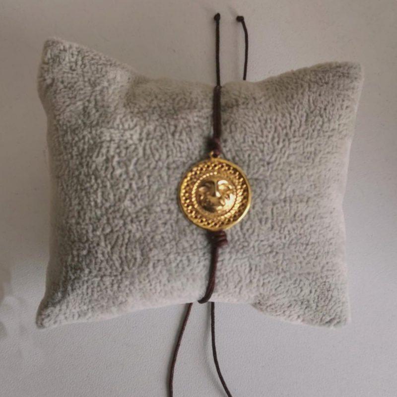 Bracelet ajustable medaillon